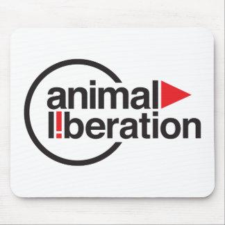 T-shirt animal de libération tapis de souris