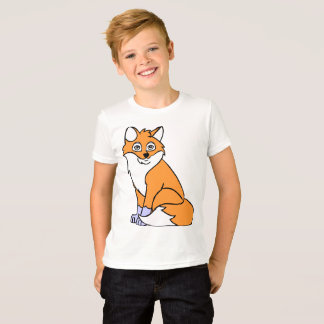 T-shirt animal de renard
