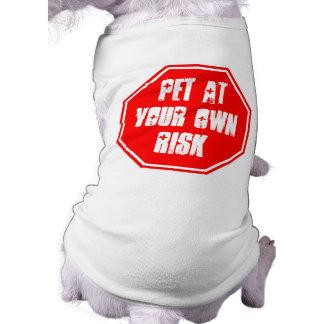 T-shirt Animal familier à vos risques et périls