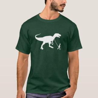 T-shirt Animal familier mignon de T-rex