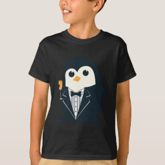 T-shirt animal mignon de smoking de pingouin adorable