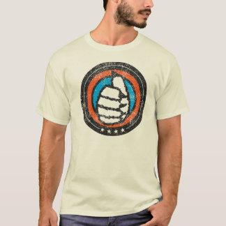 T-shirt Animal velu T
