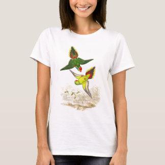 T-shirt Animaux de faune d'oiseaux de perroquet de