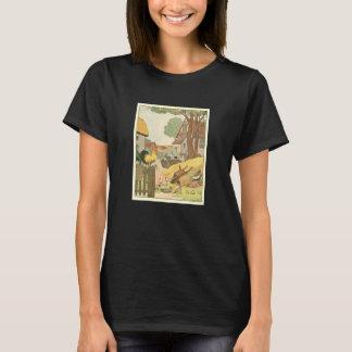 T-shirt Animaux de ferme de livre de l'histoire des