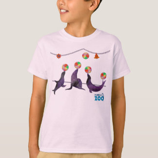 T-shirt Animaux du zoo de Mabell, les phoques