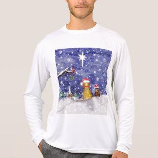 T-shirt Animaux familiers de Noël - art
