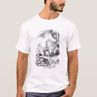 T-shirt Animaux sauvages 'd'une histoire de la terre