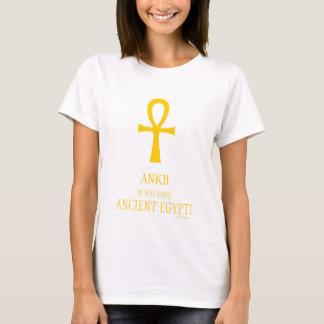 T-shirt Ankh drôle si vous aimez le symbole de la vie