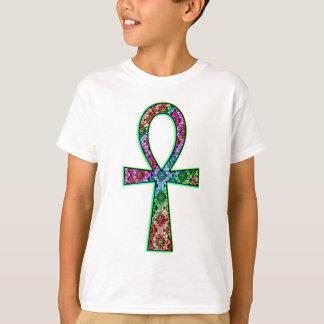 T-shirt Ankh psychédélique
