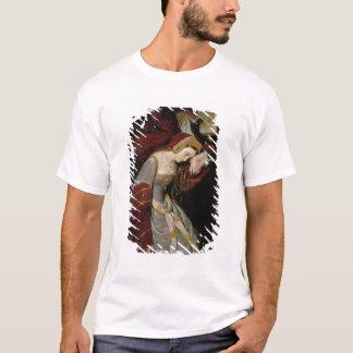 T-shirt Anne Boleyn dans la tour, détail, 1835