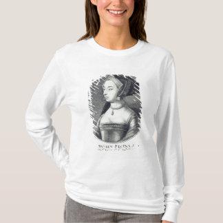 T-shirt Anne Boleyn, gravé à l'eau-forte par Wenceslaus