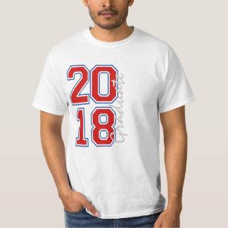 T-shirt Année 2018 d'obtention du diplôme