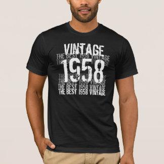 T-shirt Année de 1958 anniversaires - le meilleur cru 1958