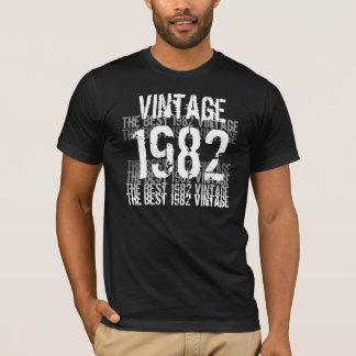 T-shirt Année de 1982 anniversaires - le meilleur cru 1982