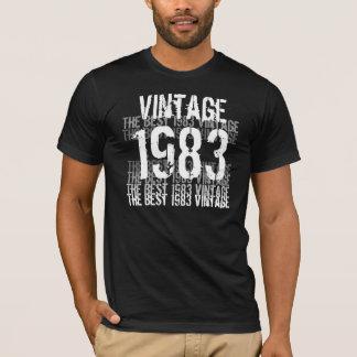 T-shirt Année de 1983 anniversaires - le meilleur cru 1983