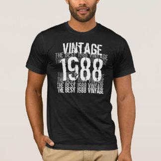 T-shirt Année de 1988 anniversaires - le meilleur cru 1988