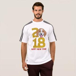 T-shirt Année de beagle de la chemise de nouvelle année du