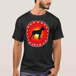 T-shirt Année du chien 1958