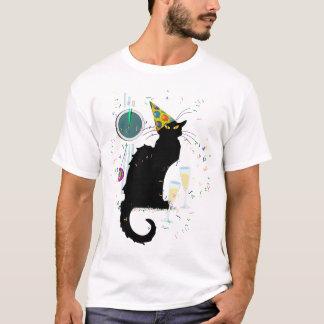 T-shirt Années Noir de conversation nouvelles
