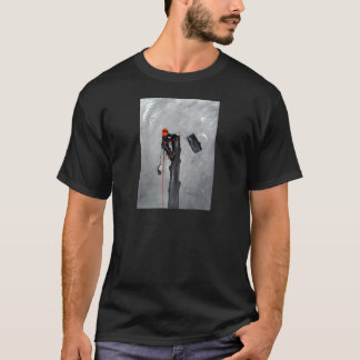T-shirt Anniversaire de cadeau de Noël d'arboriste de