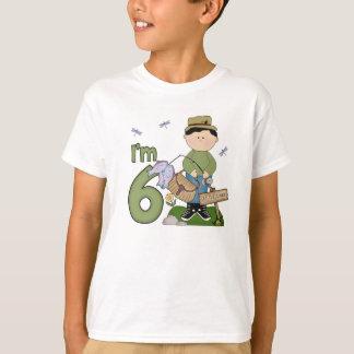T-shirt Anniversaire de pêcheur de Lil 6ème