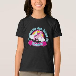 T-shirt Anniversaire drôle de la chemise   octobre de