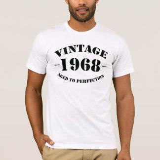 T-shirt Anniversaire du cru 1968 âgé à la perfection