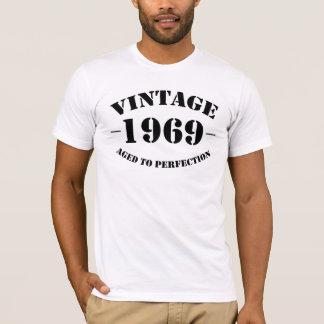 T-shirt Anniversaire du cru 1969 âgé à la perfection
