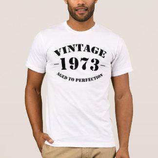 T-shirt Anniversaire du cru 1973 âgé à la perfection