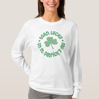 T-shirt Anniversaire du jour de St Patrick