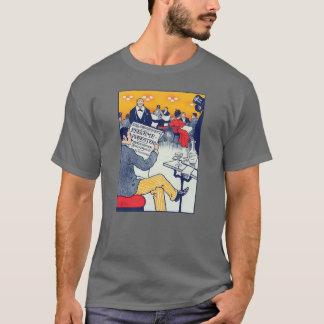 T-shirt Annonce de Pøster gris-foncé