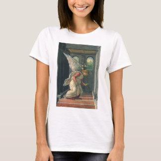 T-shirt Annonce (détail d'ange) par Sandro Botticelli