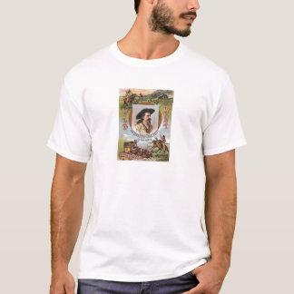 T-shirt Annonce vintage de l'exposition 1893 occidental de