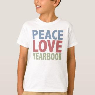 T-shirt Annuaire d'amour de paix