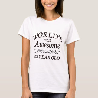 T-shirt Ans les plus impressionnants du monde 90
