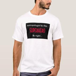 T-shirt Anthropologue de super héros