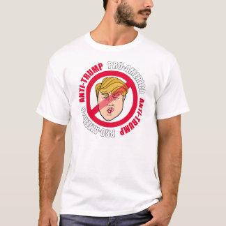 T-shirt Anti-Atout de la Pro-Amérique -- Conception