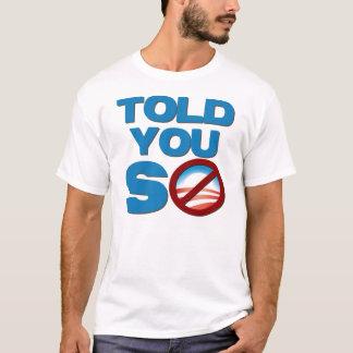T-shirt Anti Barack Obama