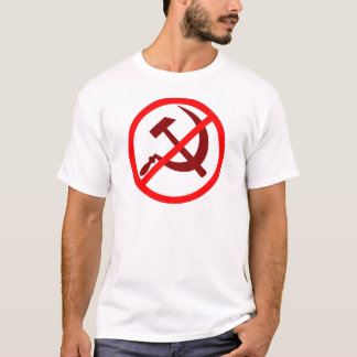 T-shirt anti-communiste