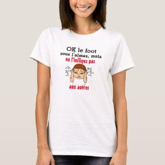 t-shirt anti-foot