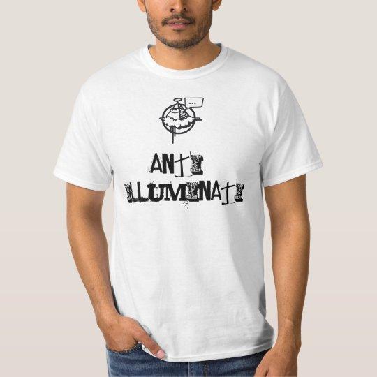 T-shirt anti-illuminati