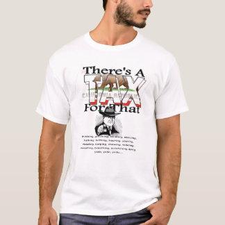 T-shirt Anti-Impôt (la Californie)
