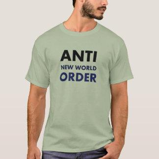 T-shirt Anti nouvel ordre mondial