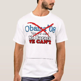 T-shirt Anti Obama