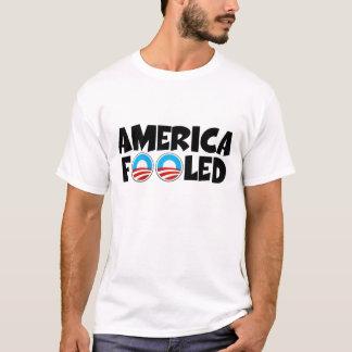 T-shirt Anti Obama, Amérique a dupé