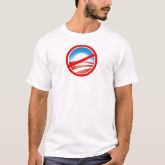 T-shirt Anti-Obama - aucun Obama 2012