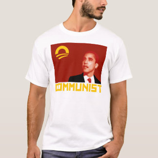 T-shirt Anti-Obama : Communiste de Barack Obama
