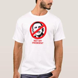 T-shirt Anti-Obama - non mon président