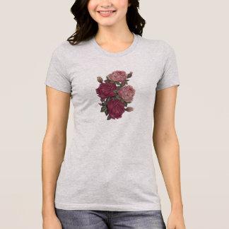 T-shirt antique de roses