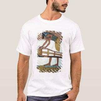 T-shirt Anubis et une maman, de la tombe de Sennedjem